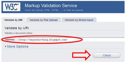 Bagaimana Cara Mengetahui Error HTML pada Template Blog