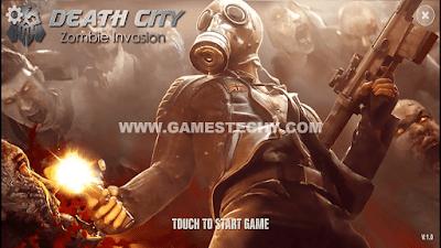 Death City Zombie Invasion Mod Apk + Data Obb
