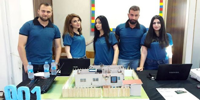 طلاب جامعيون سوريون يصممون بيوتاً ذكية؟