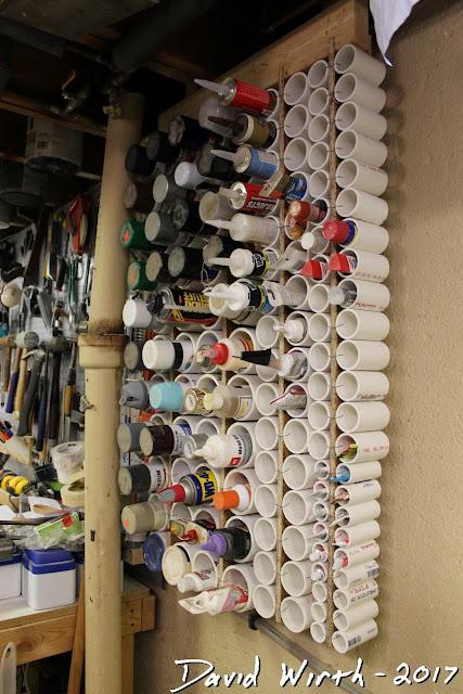 shelf, caulk, paint, glue shelf
