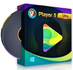 المشغل الرائع للمتلميديا DVDFab Player Ultra 5.0.1.1 باحدث نسخه 2018