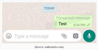 Fitur baru whatsapp 'Forwarded Message' yang akan mengurangi spam