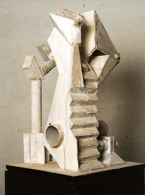 Beeindruckende Glasskulptur Tornado