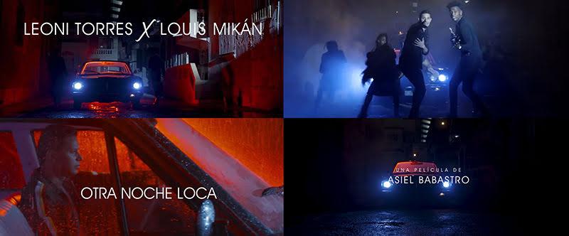 Leoni Torres y Louis Mikán - ¨Otra Noche Loca¨ - Videoclip - Dirección: Asiel Babastro. Portal Del Vídeo Clip Cubano