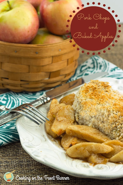 Pork Chops and Baked Apples | Cooking on the Front Burner