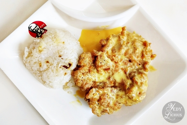KFC Salted Egg Chicken Philippines KFC Salted Egg Yolk Chicken, New Product Menu of KFC Philippines Blog Review Price Branches Online Delivery Hotline, KFC Salted Egg Yolk Chicken Recipe Facebook Instagram Twitter YedyLicious Manila Food Blog