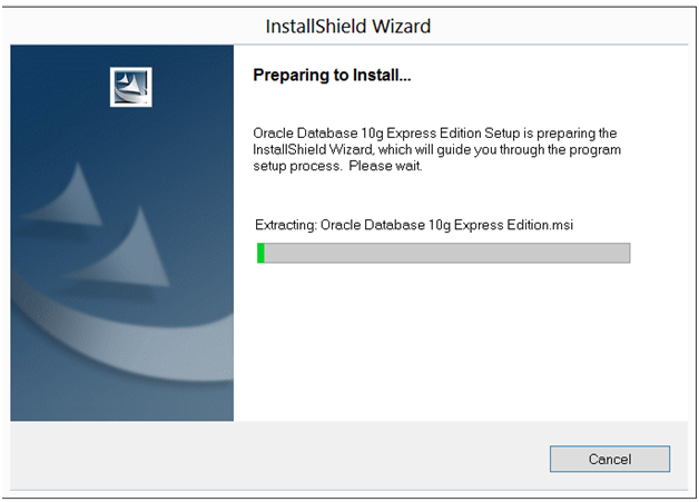 Installation of Oracle XE 10g on windows 8 | My Tips