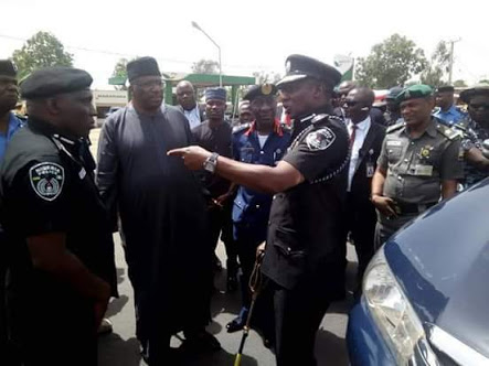 IGP Idris, Minister Dambazau Arrive Plateau Over Killings (Photos)