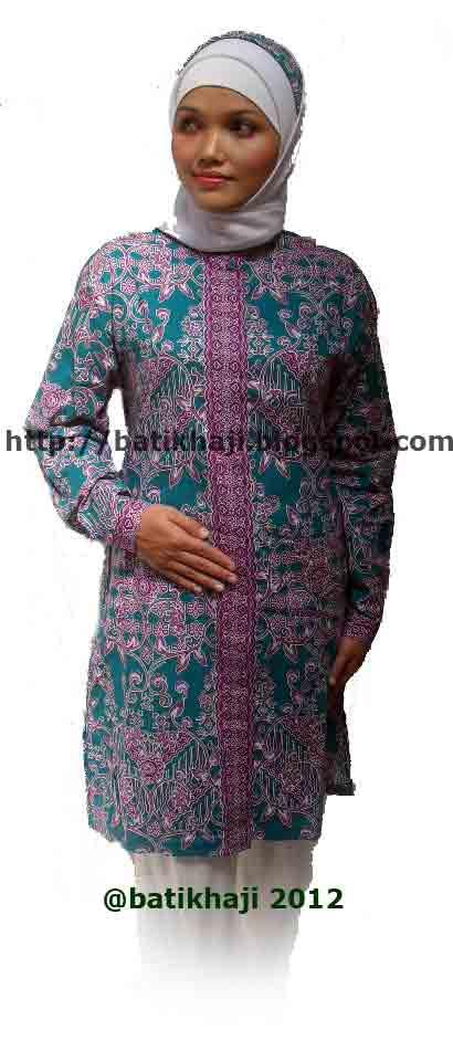 Contoh Blouse Batik Untuk Orang Gemuk - Contoh Two