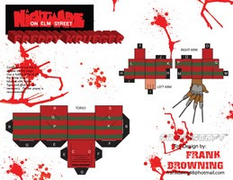 Descargar cubeecraft Freddy Krueger, especial Halloween