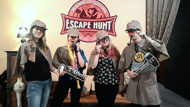 Escape Hunt Chiang Mai review