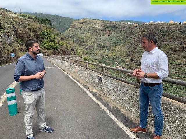 Comienzan las obras de mejora de la carretera de Los Tilos