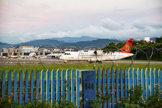 謝寶幸福窩: [臺北中山]濱江街老景點看飛機起降
