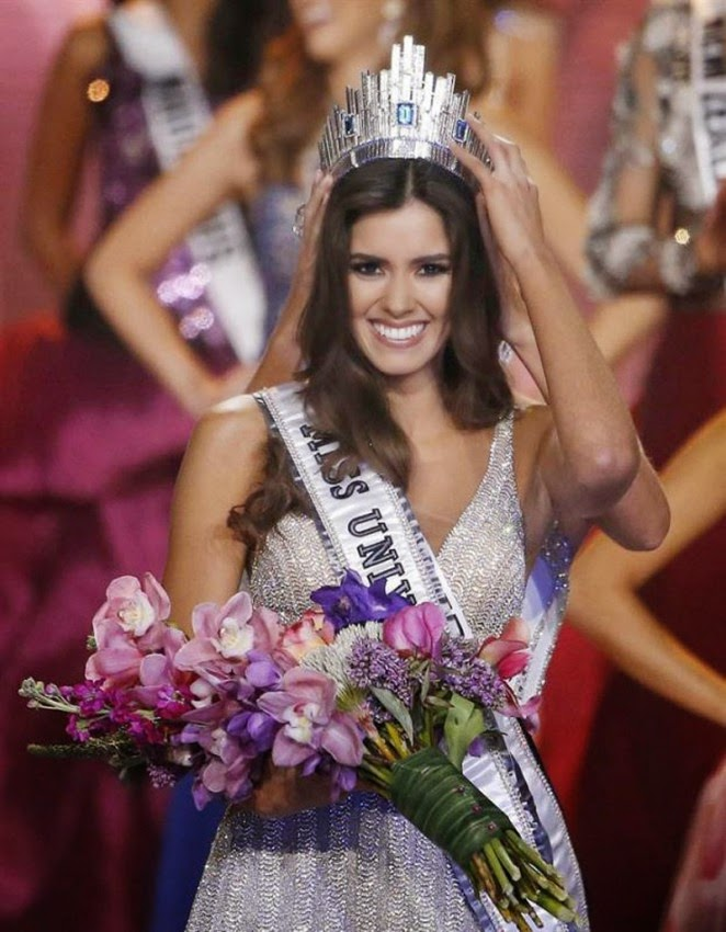 Miss Columbia Paulina Vega is crowned the Miss Universe 2014 after edgy Miss Jamica comes down to fifth place