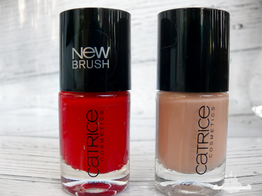 Ultimate Nail Lacquer 91 It's All About that red / 98 No Coffee Without Toffee