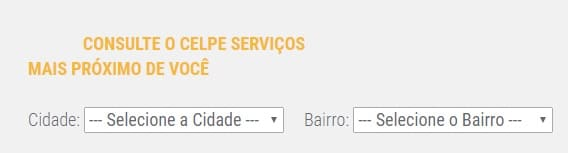 Print da Celpe serviços