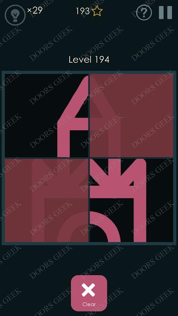 Symmetry - Drawing Puzzles Level 194 Solution, Cheats, Walkthrough
