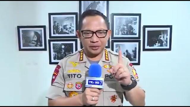 Kapolri Tito: Ingin Melihat Peradaban Masyarakat, Lihat Perilaku Polisinya