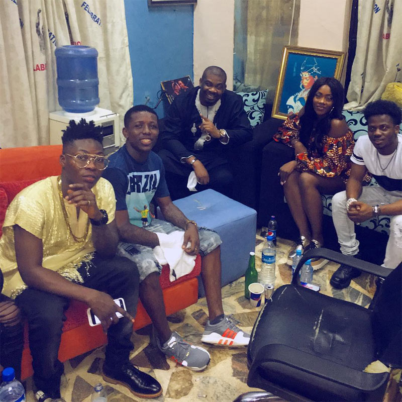 Small Doctor reportedly finalizes deal to join Mavin Records as he's pictured with Mavin crew