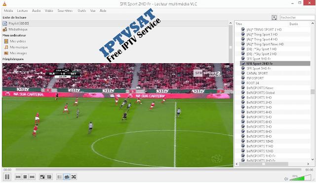 Sport iptv m3u playlist vlc channels HD