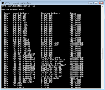 cmd command windows netstat -an