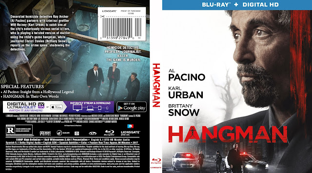 Hangman Bluray Cover