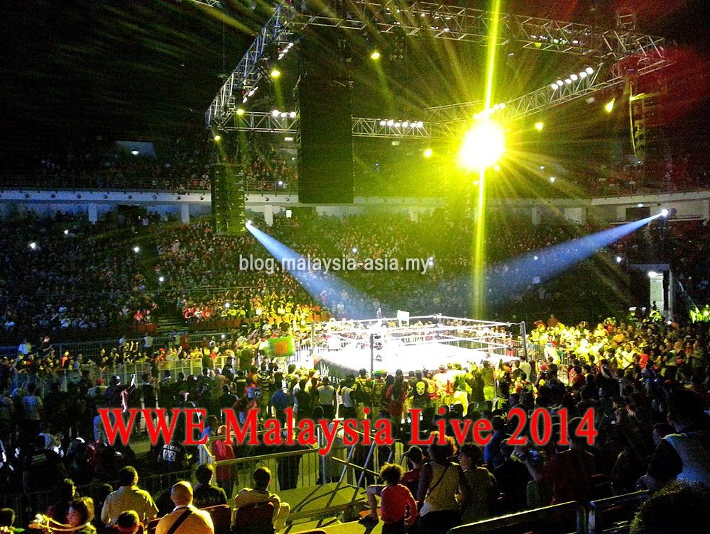 WWE Malaysia 2014 Photos and Review