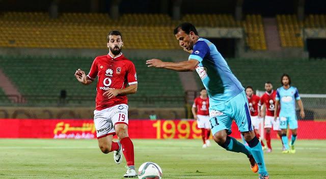 موعد مباراة الأهلي وبتروجيت اليوم الجمعة 29-12-2017 في الدوري المصري