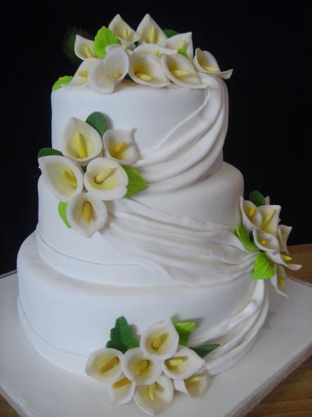 Pin 140 Calla Lilies Cupcakes Cake on Pinterest