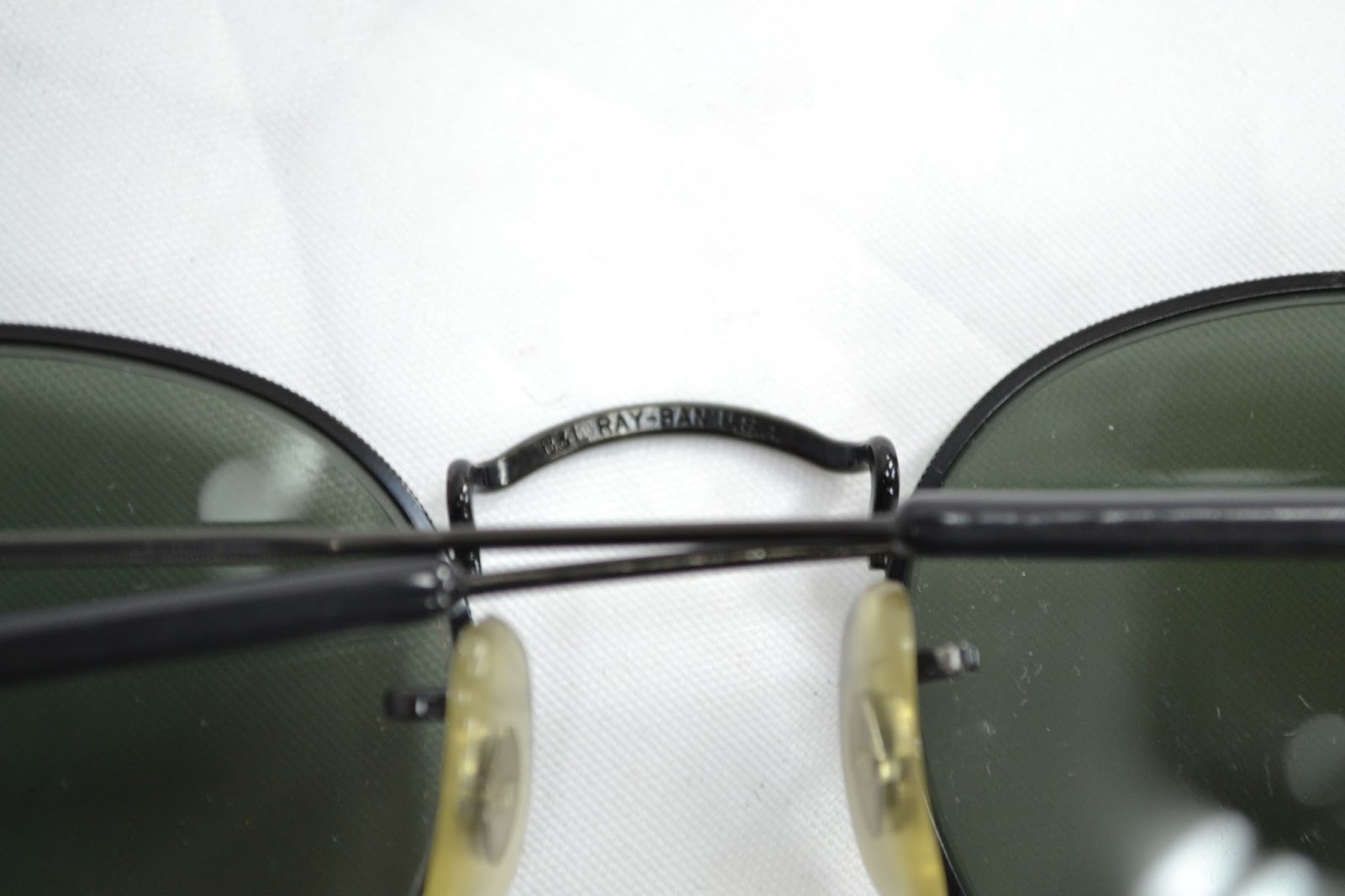 fb4ca28ce87 Vintage Ray Ban round metal W1547! condition  NOS  9 10 lens  G15 size 47mm.  Price  149€ For more details please inbox direct or email to  girishrd hotmail. ...
