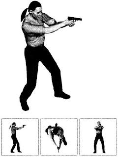 Модификация базовой изготовки. Пистолет удерживается двумя руками