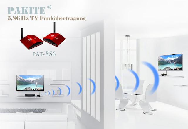 Bewertungen von PAT-556 TV Funkübertragung | PAKITE