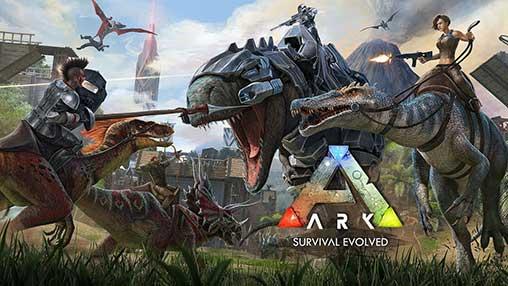 تحميل لعبة ARK apk البقاء على قيد الحياة مهكرة آخر إصدار