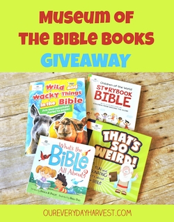 Children's Bible Book Giveaway