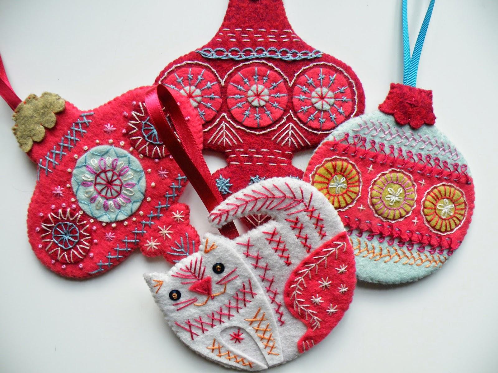 NANCY NICHOLSON: Christmas Bauble Tutorial 2014