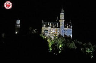 Neuschwanstein iluminado