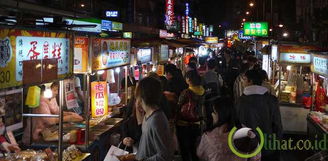 Pasar Malam Ningxia, Taiwan