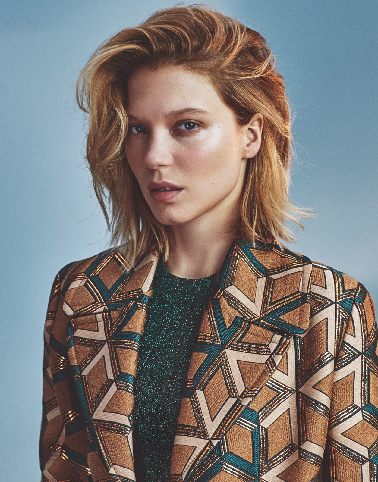 l233a seydoux in the edit magazine november 5th 2015 by