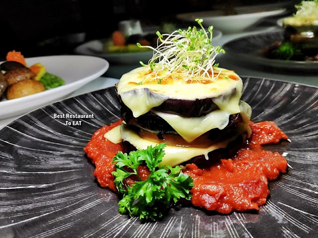 The Club @ G Tower Hotel New Menu - Melanzane