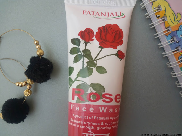 Patanjali Rose Face Wash Review: Packaging, Online availability