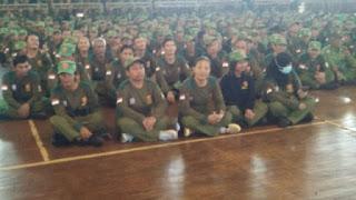 Linmas Garda Terdepan Keamanan Masyarakat