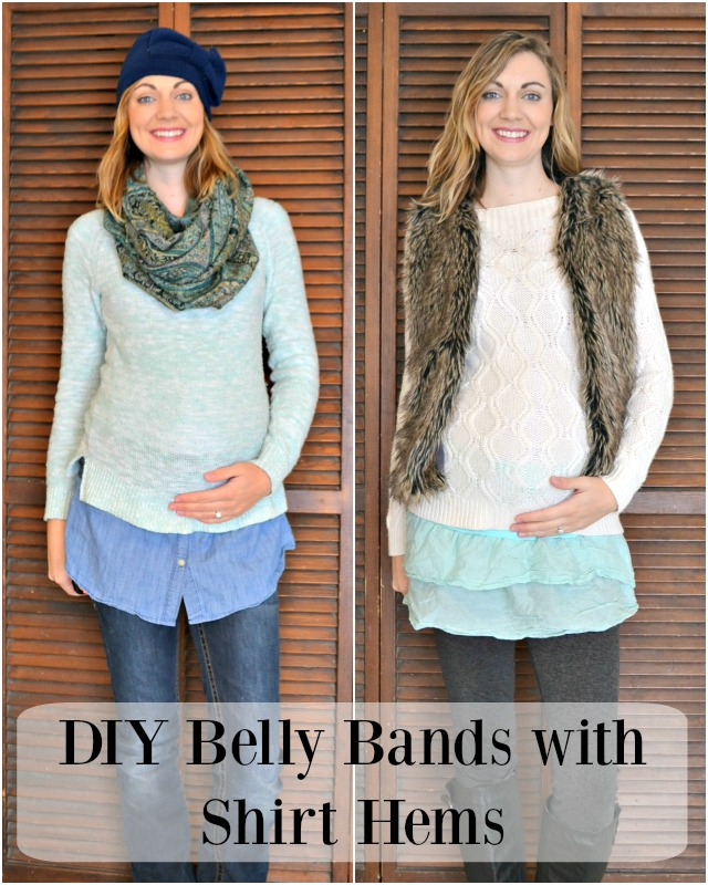 Me Made: DIY Belly Bands with Shirt Hems