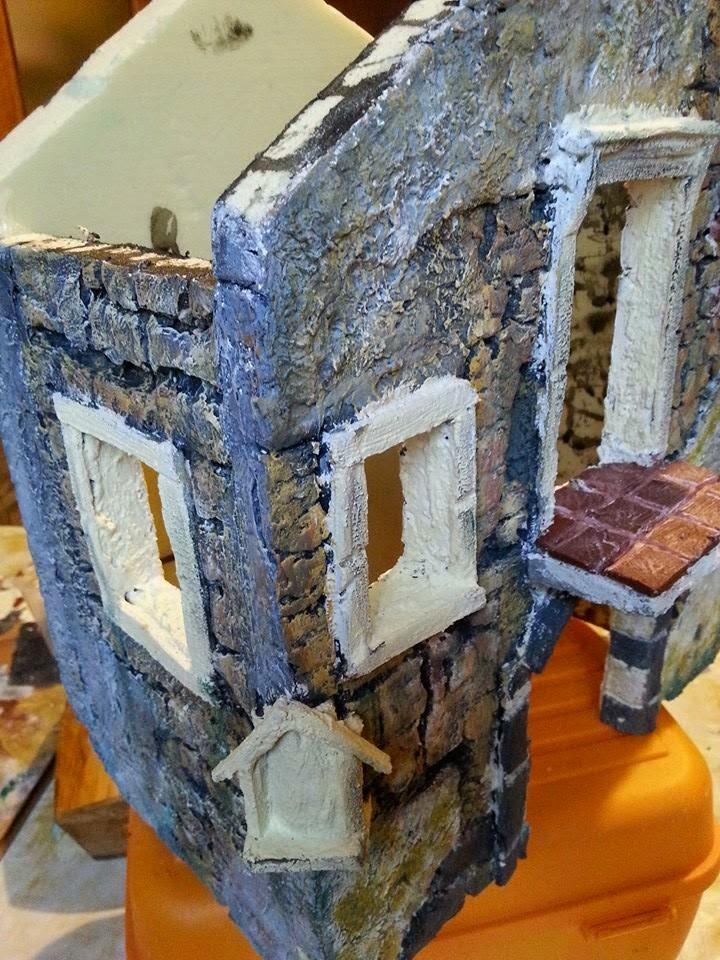 Come costruire un presepe con fogli di polistirene il for Come ottenere un prestito di costruzione per costruire una casa
