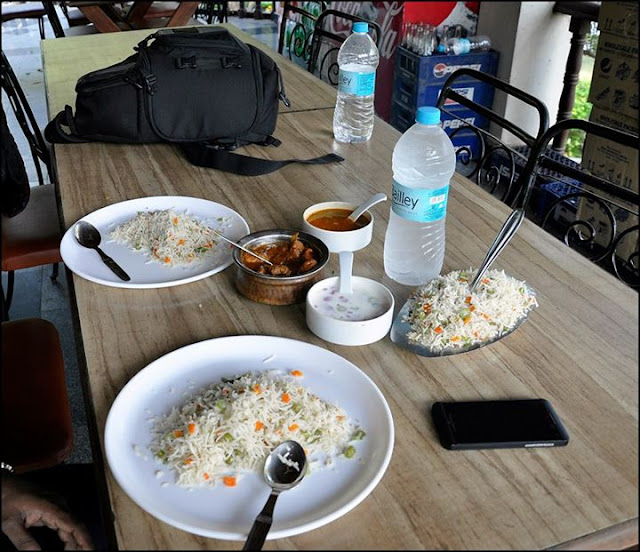 food at Bhavani Island