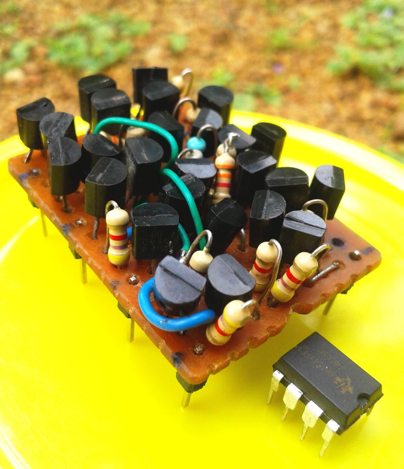 Discrete 555 Using Transistors (Replica of NE555 IC)