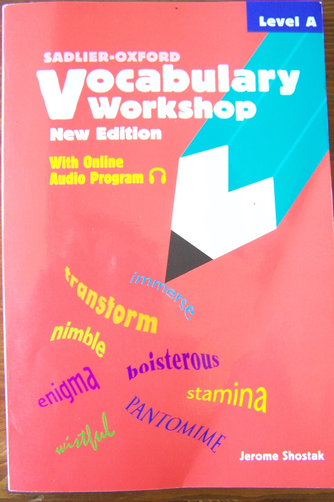 Now Is The Best Time Vocabulary Workshop A Look Inside