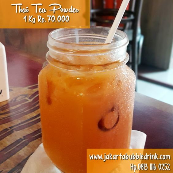 Supplier thai tea powder jakarta
