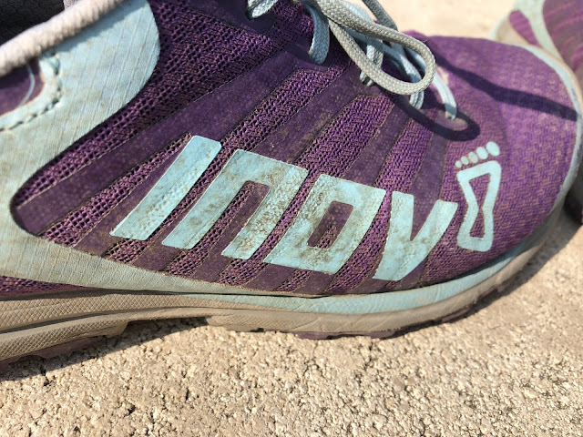 Close up of Inov8 logo
