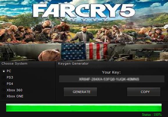 keygen far cry 5
