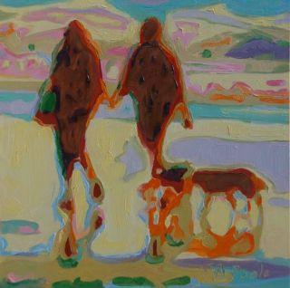 Сочетание импрессионизма и абстракции. Bertram Poole
